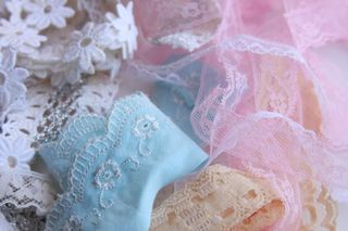 Lace pieces
