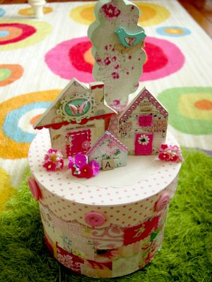 Swap box with mini houses